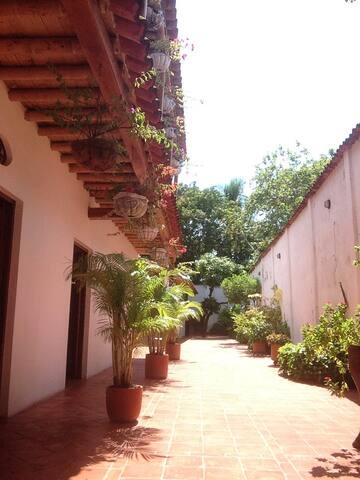 Habitación doble en Casa Verde Albarrada - Mompós