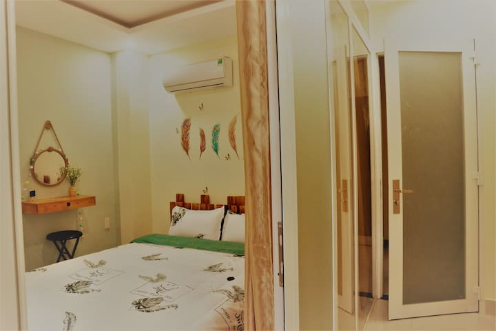 Small lovely room with share WC in center of HCMC
