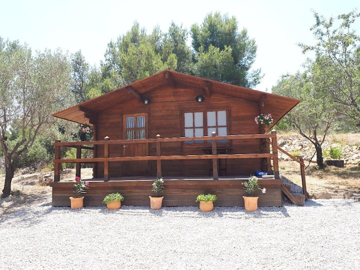 The Almond Cabin - self catering country getaway.