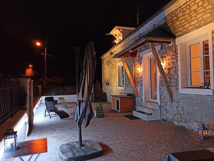 Moulin à eau Chambre Bois