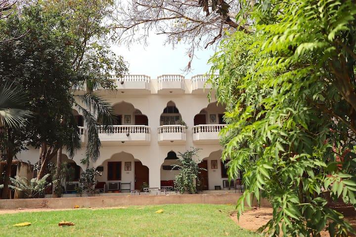 Shahar Palace - The Peacock Garden central Jaipur