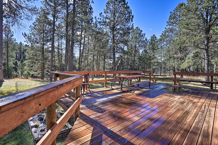 Private Black Hills Home w/ Corral; Horses Welcome