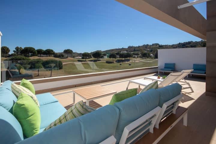 Modern spacious duplex Horizon Golf, La Cala Golf