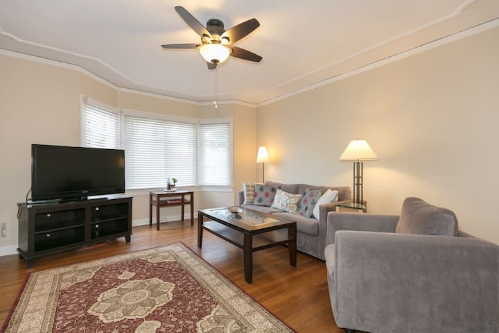 Charming 1 bedroom enjoy staying in Laurel Heights