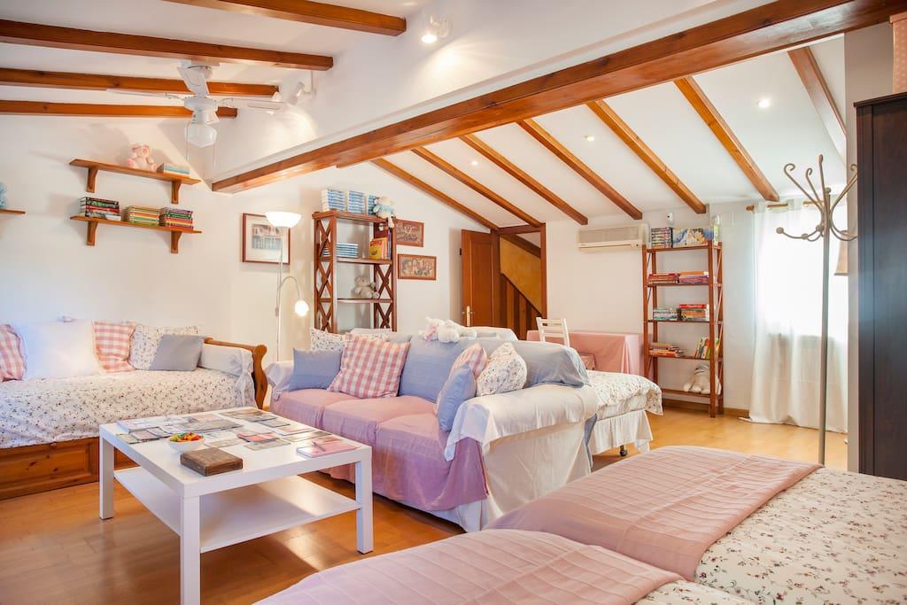 Buhardilla con encanto casas en alquiler en godella - Buhardillas con encanto ...