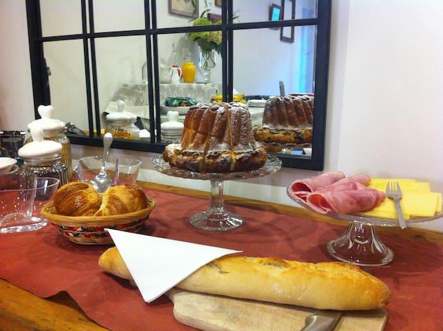 Coté Cour Bischwihr Colmar 4 - Bischwihr - Bed & Breakfast