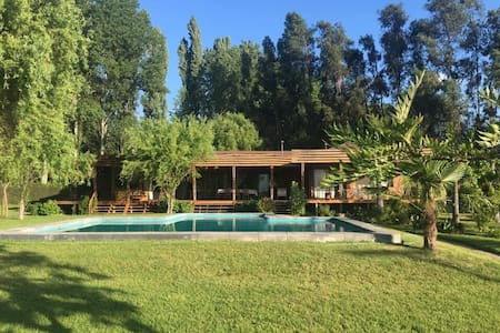 Espaciosa y acogedora casa de campo en Aculeo.