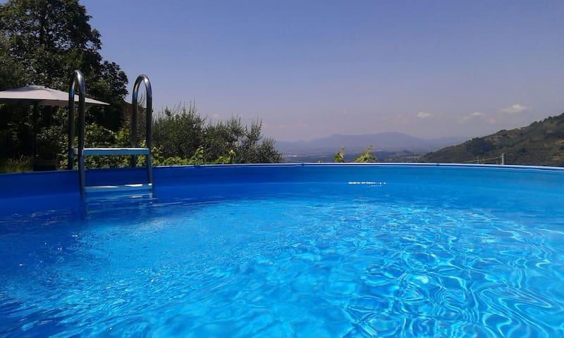 appartamento in villa toscana - Pescia - Byt