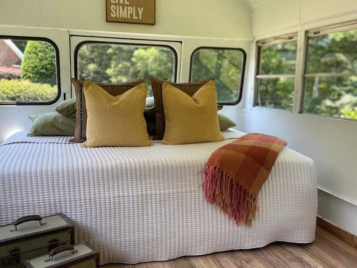 Live Simply - converted bus