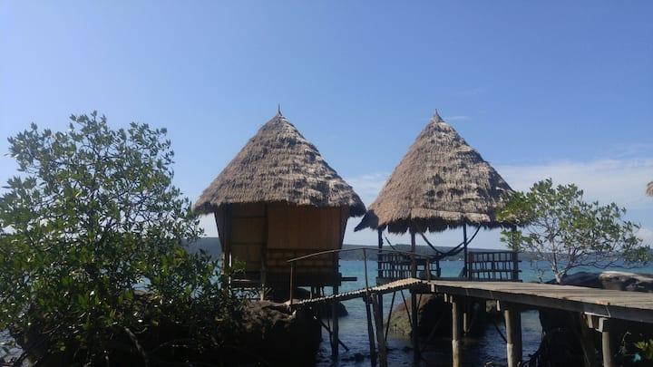 Sea View Bungalow 4 @ Jungle Bay Eco-Lodge