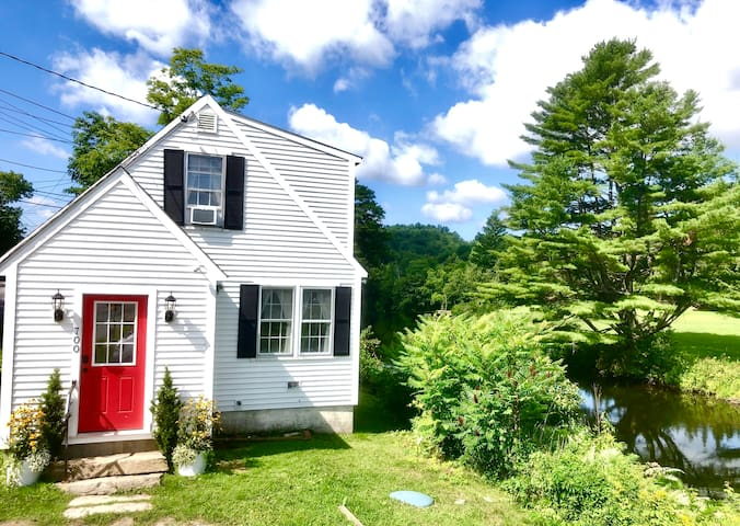 The Vermont River Cottage! Home Away From Home.