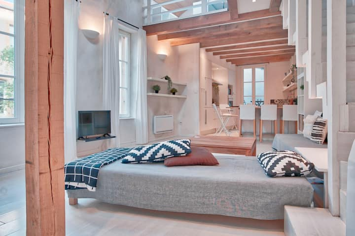 F4 en Duplex avec 2 chambres