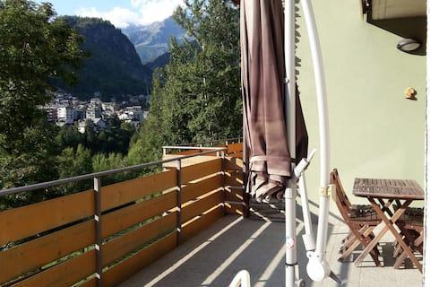 Apartment with view in Caspoggio