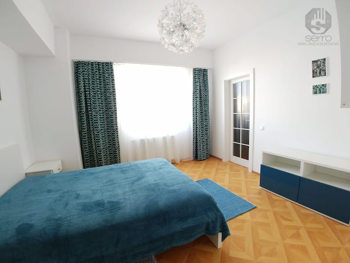 New apartment to explore Sibiu City jazz.CallAloha