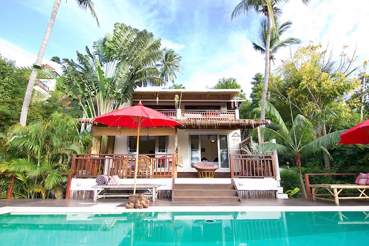 Koh Phangan Luxury Baan Mali Villa 10 people