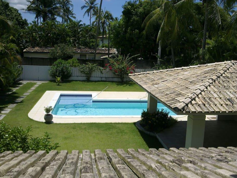 View from the Master Suite Balcony - Vista da Varanda da Suíte Master