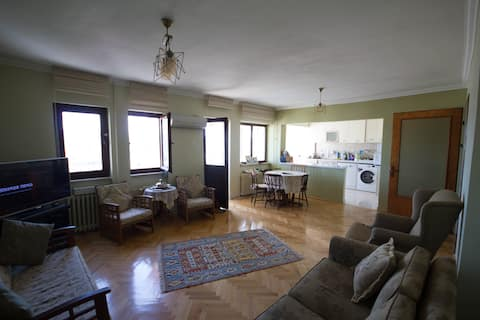 Cosy rooms with great view in the heart of Ankara.