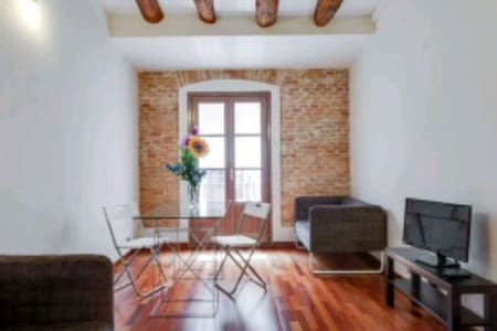 NEW APARMENT PERFECT LOCATION (couples) - Barcellona - Appartamento