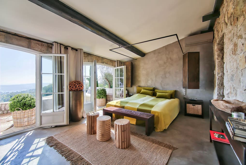 Master Bedroom Suite with Dressing & private Terrace