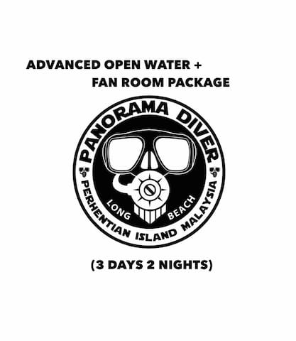 Advanced Open Water + Fan Room Package (3D 2N)