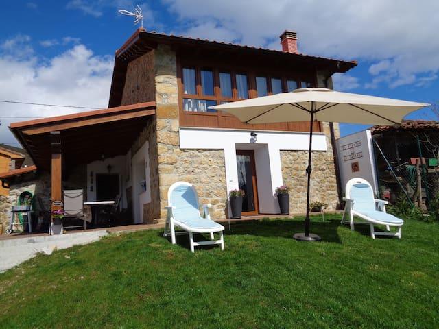 Máximo relax en un ambiente rural - Villaverde - Huis