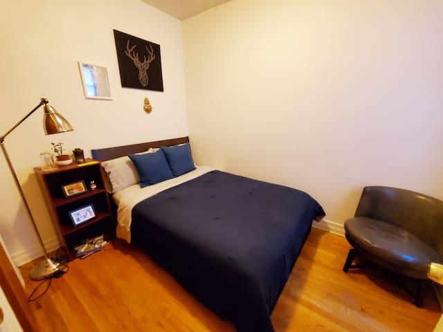 Cozy and comfortable bedroom in Astoria, Queens