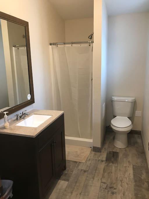 New remodeled Bathroom