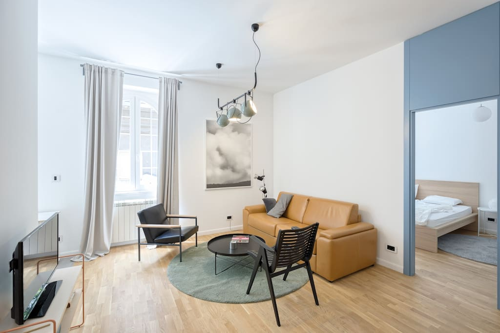 Stylish new design apartment in the city center for Design apartment milano city center duomo