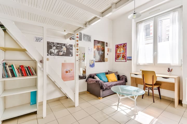 Charming studio apartment for two people
