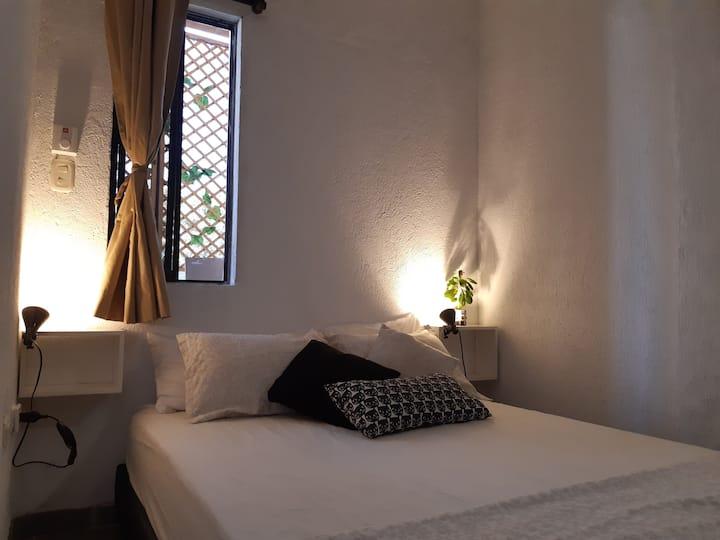 Privated room,clean and nice,Casa Mandala taganga.
