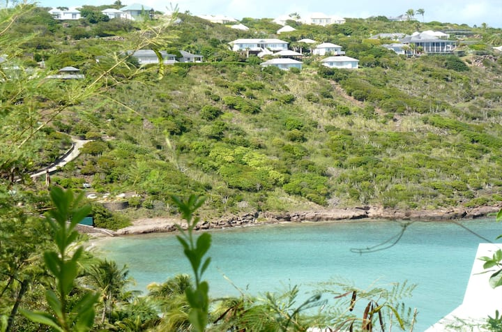 St Barth Sea View Bungalow AC and Wifi