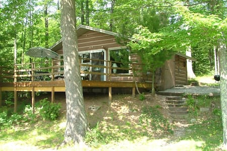Quiet, Private Secluded - Cabin on Spider Lake - Traverse City - Cabana