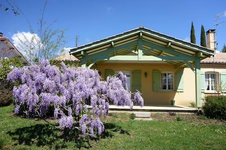 L'Occitane, charmant gîte 4 pers - jardin 900 m²