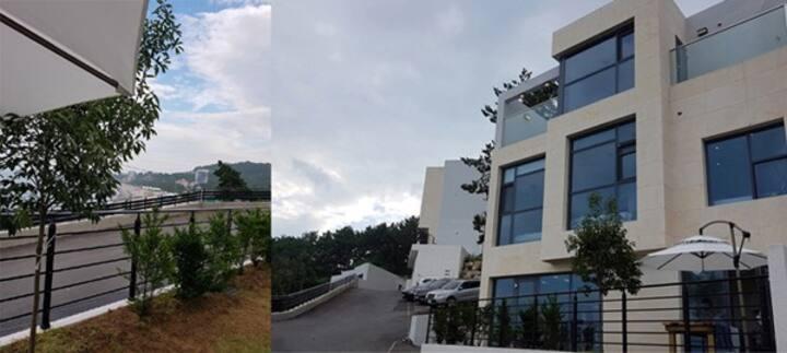 경주아이브1109호, 3층전층사용, 신축, 오션뷰풀빌라, 감포고아라해수욕장