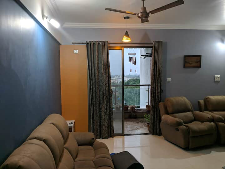 Wow stay Amidst 350 acres of Greens -All Amenities