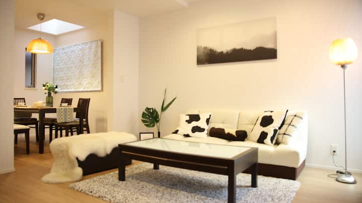 FREE WIFI;北池袋步行7mins;交通便利;4卧室;高级设备一户建别墅