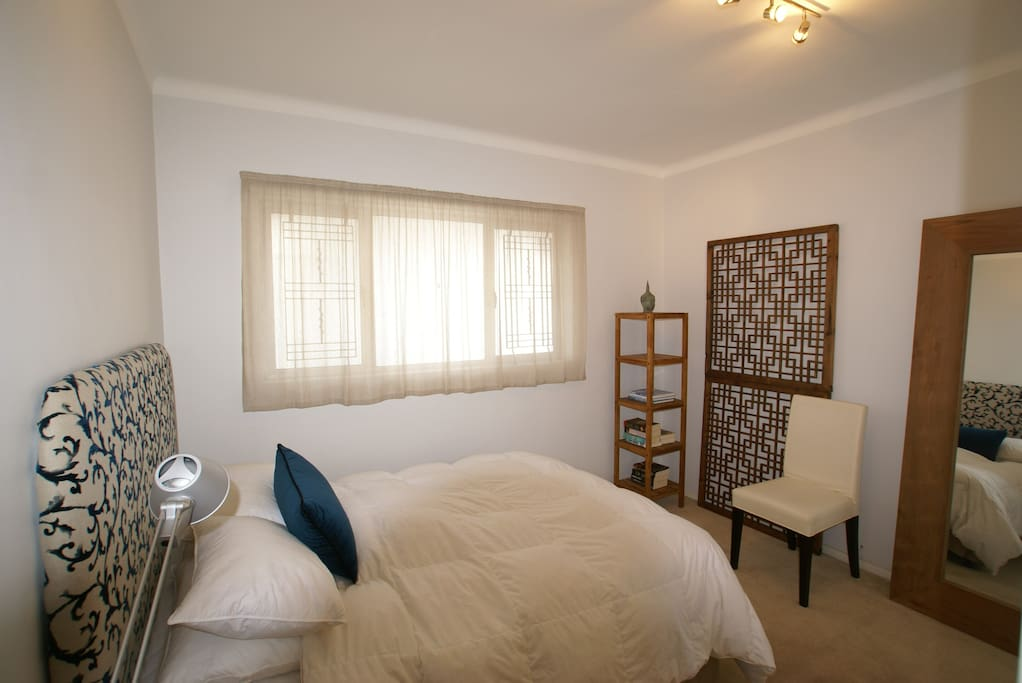 Second on suite bedroom with a double bed