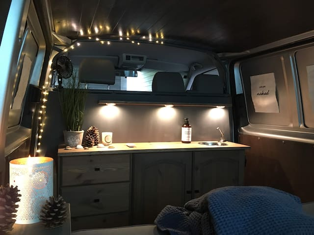 Explore Norway with simply made camper van :)