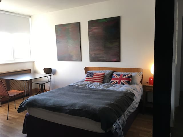 Affordable loft studio flat in South London.