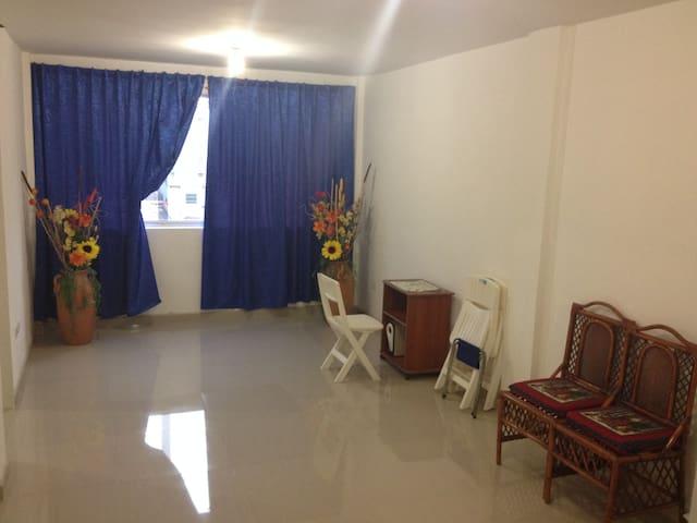 Sala y Ventanal Principal / Sala e Janela Principal