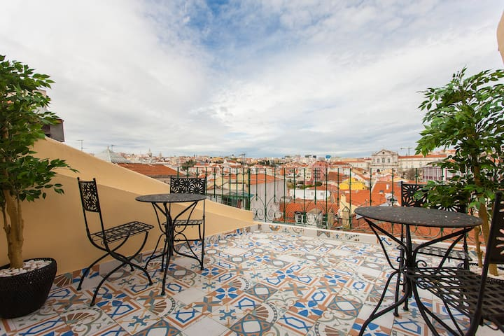 Sta Catarina apartment with a view - Lisboa - Appartement