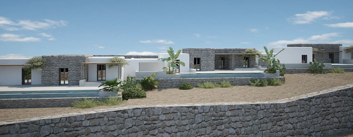 Aegean Hospitality Double Bedded Accommodation