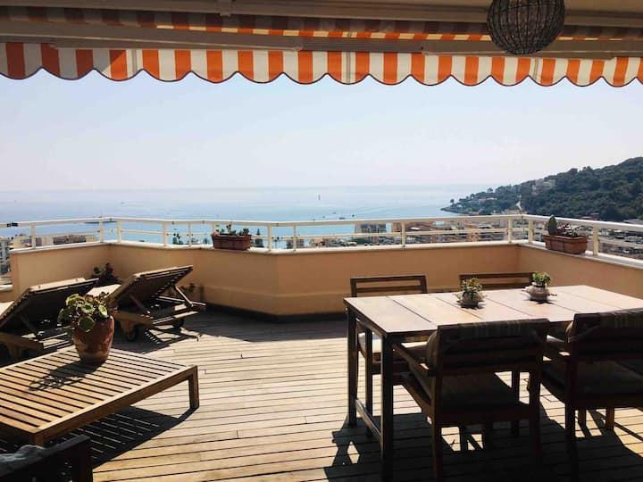 Top floor - fabulous terrace, sea view