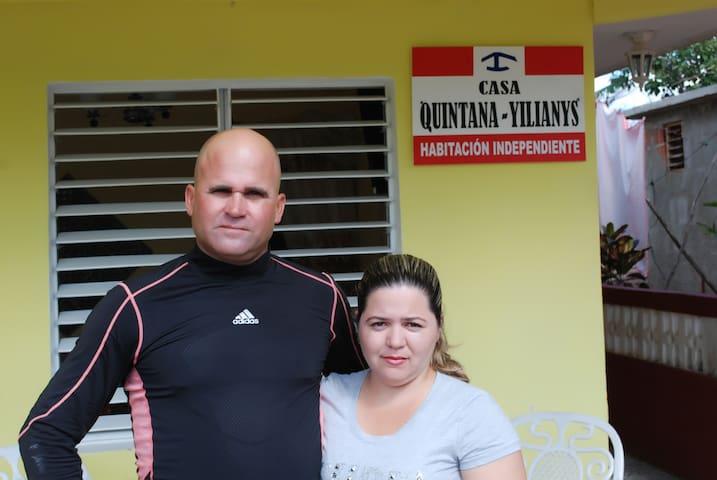 Casa Quintana-Yilianys New offer 1 free hours wifi