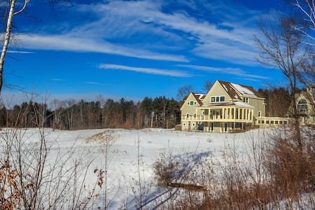 Tinkham Hill Farm- For your Events - Hartland - Rumah