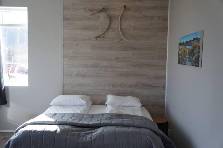 Húnaver B&B Room 1 with shared bathroom. - Húnavatnshreppur - Bed & Breakfast