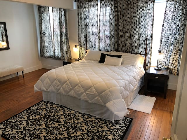 Perfect 1-bdrm, Fan, Carytown, VMFA, Byrd Park