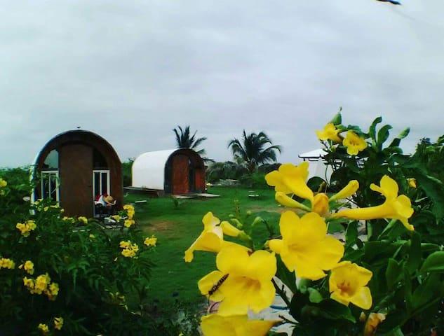 Kiteboarding school cabanas - Punta Chame - Pousada