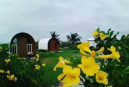 Kiteboarding school cabanas - Punta Chame