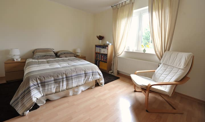 Quiet double room in Sandweiler